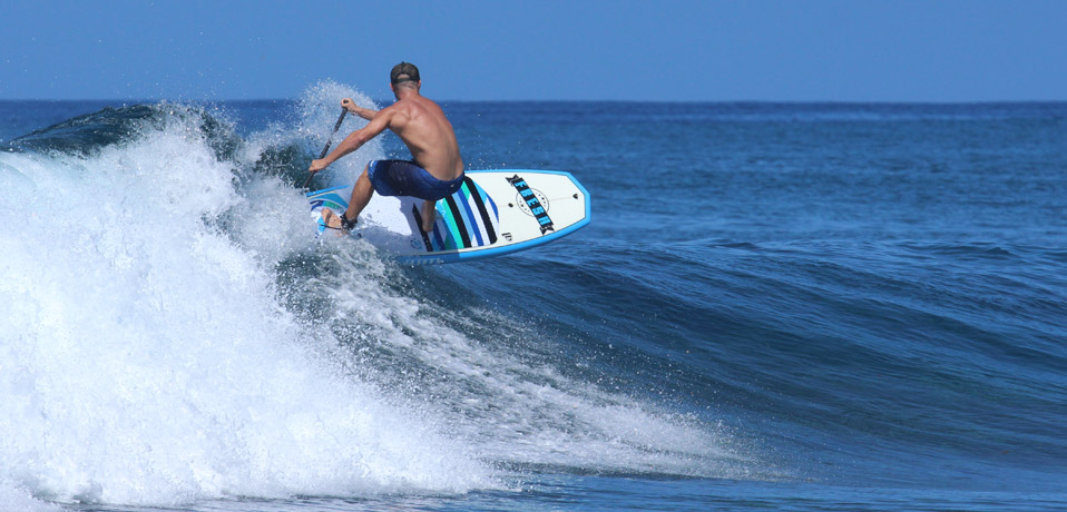 Stand-up Paddle extrême Fresh Boards